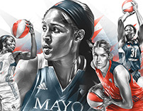ESPN / WNBA/MMA
