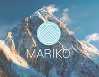 Mariko Alpine Branding