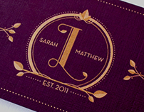 Sarah & Matthew Invitation