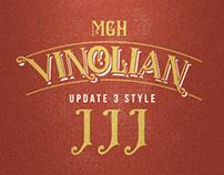 MGH vinolian Hand Drawn Clean & Rough