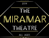 Miramar Theatre Promotional Poster (March/April 2014)