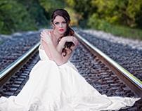 Bridal Portraits - Bridal Train