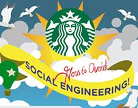 Starbucks social engineering infographic