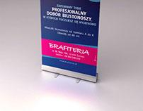 Brafiteria / Roll up 85x200