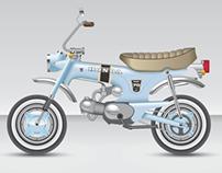 Honda Dax Restoration Concepts