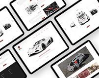 Car Web Design - Koenigsegg AGERA R 2012 - FREE XD FILE