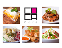 COCA Cafe Food Photography & Collaterals