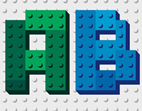 Font of Toy Blocks