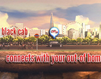 London Taxi Advertising Website Video