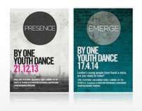 Leaflet Design: One Youth Dance, London Dance Troup