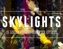Skylights - After Effects Filter Pack