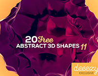 FREE 3D Abstract Shapes 11