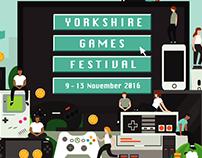 Yorkshire Games Festival Ident