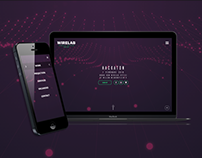 Wirelab Interactive Projection Mapping Web Design
