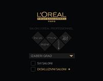 L'Oréal Professionnel store locator