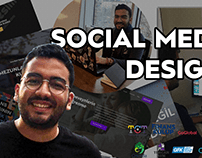 Social Media Designs - Adobe Photoshop