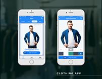 Clothing iOS App