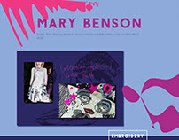 Sewing for Mary Benson