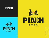 Punch Soda Branding
