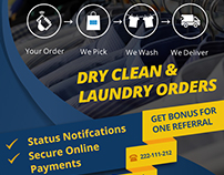 DCD (Dry Clean Services) - Mobile App
