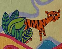 Mural design for Azim Premji Foundation