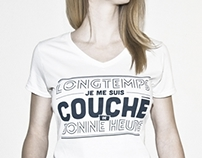 Tind shirts - Literary french style