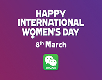 Womens Day Commercial for Wechat India..