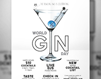 World Gin Day Poster