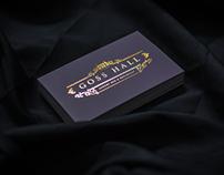 Goss Hall Branding