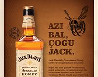 Jack Daniel's Tennessee Honey sales sheet TR