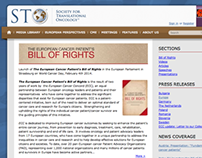 European Cancer Patient's Bill of Rights site