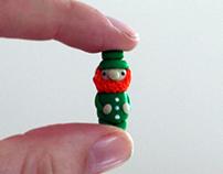 Mr. Leprechaun - Miniature Sculpture