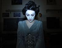 Geisha robot's feeling