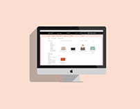 Web design-online shop
