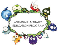 Swim school booklet for children.