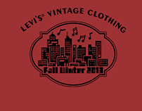 Levi's Vintage Clothing FW13 'products shots'