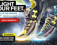 Under Armour Footwear Ecommerce