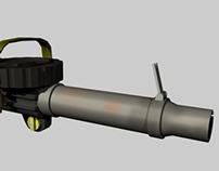 Projet de modélisation d'armes pour jeux vidéos