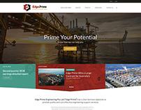 Edge Prime Engineering Web Design & Corporate Identity