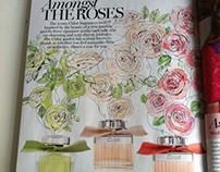 Chloé fragrances for Marie Claire magazine