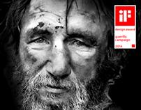 HOMELESS | Guerilla campaign