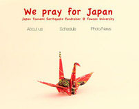 Japan Fundraiser Website