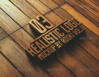 Realistic Logo Mockup Vol.2