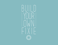 Web Design - Buid Your Own Fixie.