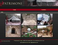 Cat Patrimoni webpage 2009