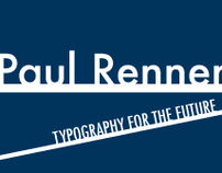 Paul Renner book design