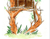Tree House Alphabet