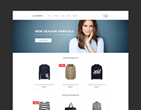 Free eCommerce web template