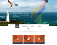 Alea - Responsive website
