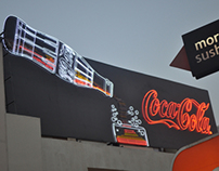 CocaCola Branding at Tivoli Dome